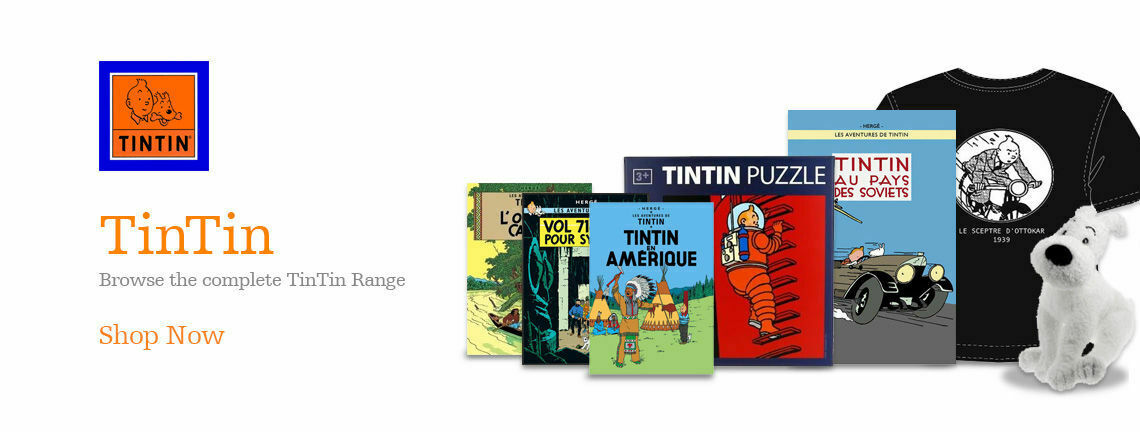 Browse our Tintin range