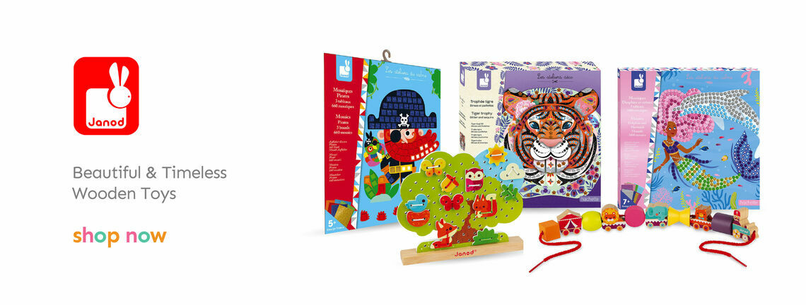 Shop Our Janod Wooden Toys
