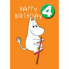 Hype Moomin Birthday Card - Age 4