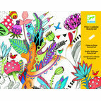 Djeco Colouring-in Poster - Butterfly Ball
