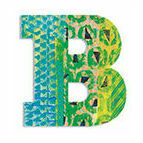 Djeco Wooden Letter B - Peacock