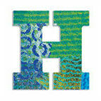 Djeco Wooden Letter H - Peacock