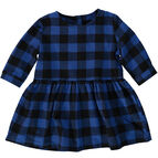 Tootsa MacGinty Lewis Plaid Smock Dress - Loch Blue