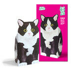 Rosie Flo Pop-Up Pet - Black & White Cat