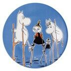 Petit Jour Paris Moomin Side Plate - Deep Blue