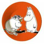 Petit Jour Paris Moomin Side Plate - Orange