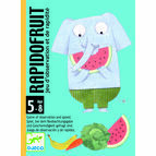 Djeco Card Game - Rapido Fruit