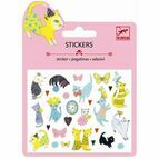 Djeco Mini Glitter Stickers - Cats