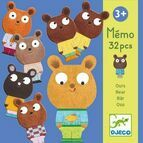 Djeco Memory Game - Memo Bear