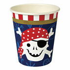 Meri Meri Ahoy There Pirate Party Cups