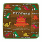 Meri Meri Dinosaur Party Square Plates