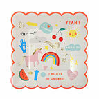 Meri Meri Rainbow & Unicorn Party Small Plate