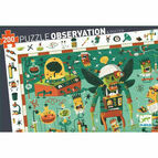 Djeco 200 Piece Observation Jigsaw Puzzle - Crazy Lab