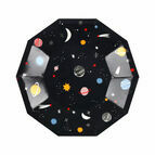 Space Small Paper Party Plates