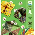 Origami Papers - Green Fortune Teller