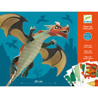 Djeco 3D Paper Hanging Model - Giant Dragon