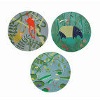 Petit Jour Paris Jungle Side Plates - Set Of 3