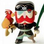 Djeco Pirate Figure - Sam Parrot
