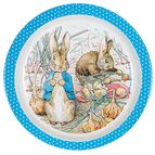 Petit Jour Paris  Peter Rabbit Baby Plate - Blue