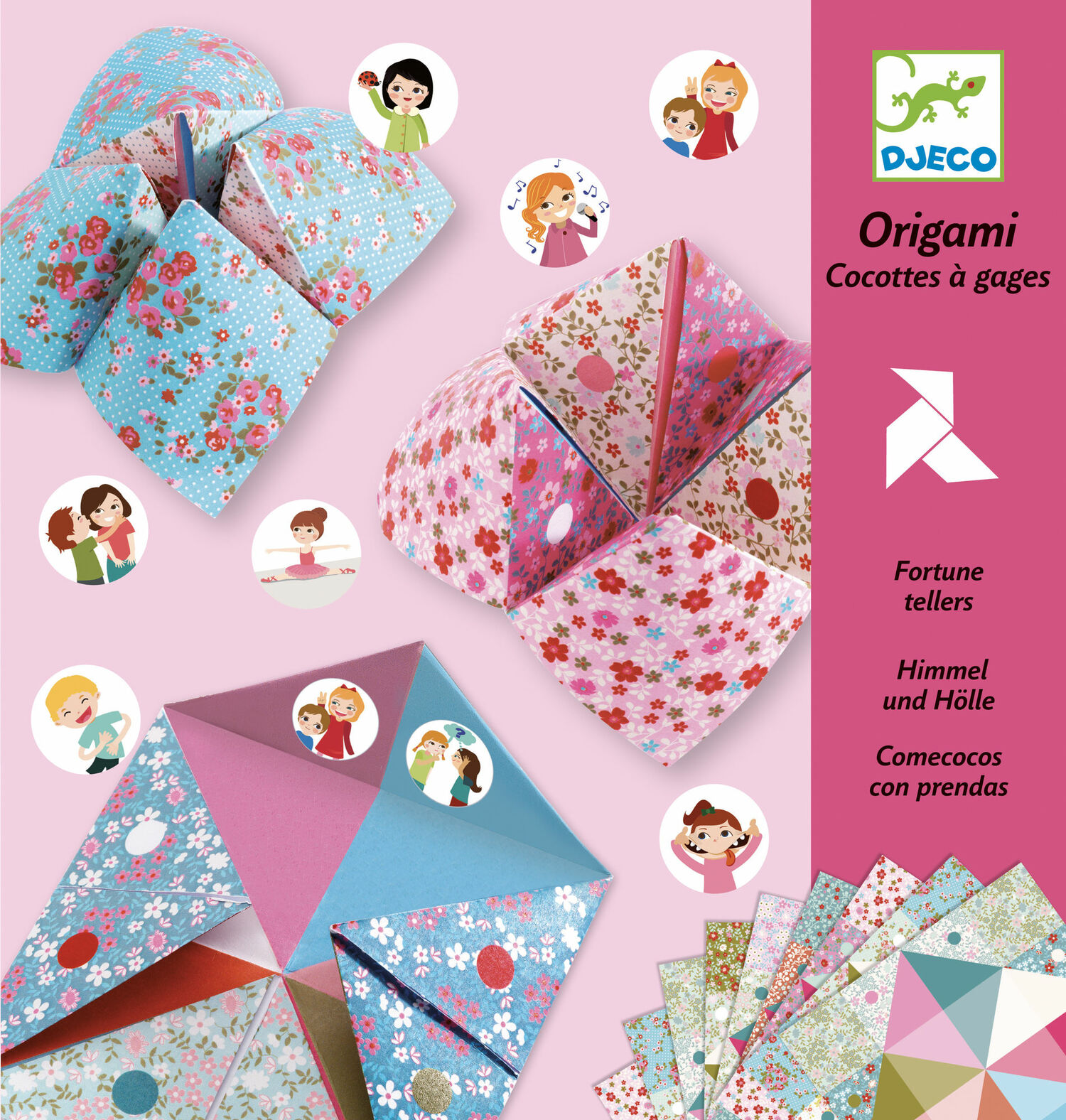 How to Make an Origami Cootie Catcher! | 1576x1500