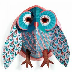 Djeco Pop Up 3D Wall Decoration - Owl
