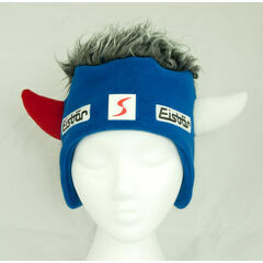 Eisbar Christy Skipool Hat - Blue with Grey Hair