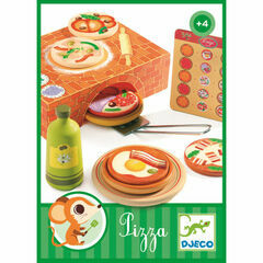 Djeco Wooden Luigi Pizza Set