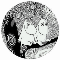 Petit Jour Paris Moomin Side Plate - Life Is Hard