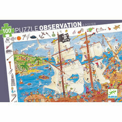 Djeco Observation Jigsaw Puzzle - Pirates