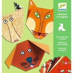 Djeco Origami Papers - Animals