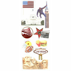 Studio Skinky Country Stickers - USA West Coast