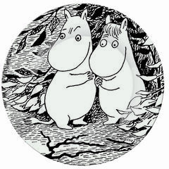 Petit Jour Paris Moomin Side Plate - Oh Darling!