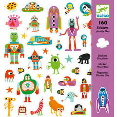 Djeco Stickers - Oxo Planet