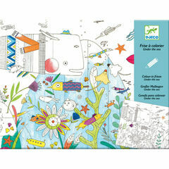 Djeco Colouring-in Poster - Under the Sea