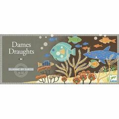 Djeco Classic Board Game - Draughts