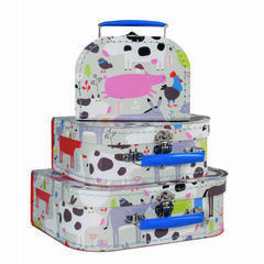 Petit Jour Paris Set of 3 Suitcases - Farm