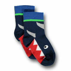 Ubang Babblechat Shark Talkie Walkie Sock - Dark Blue