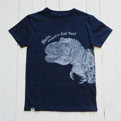 Lion of Leisure Dinosaur T-Shirt - Navy