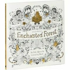 Laurence King Publishing Enchanted Forest - An Inky Treasure Hunt and Colouring Book