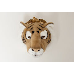 Wild & Soft Animal Head Rucksack - Tiger
