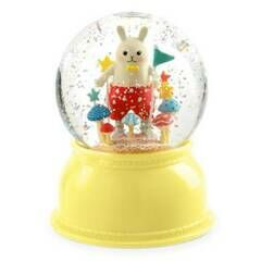 Djeco Glitter Globe Night Light - Rabbit