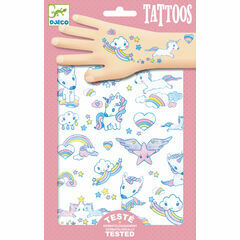 Djeco Temporary Tattoos - Unicorns