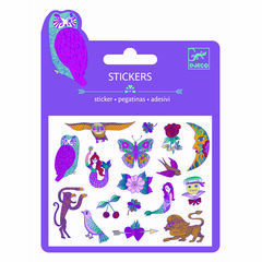Djeco Mini Glitter Stickers - Chimeres/Illusions