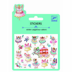 Djeco Mini Padded Stickers - Fairies