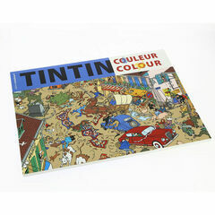 Tintin Colouring Book