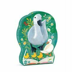Djeco Silhouette 24 Piece Puzzle - The Ugly Duckling