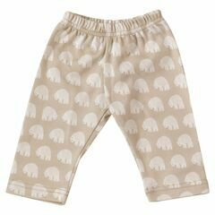 Pigeon Organics Polar Bear Leggings - Taupe