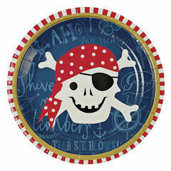 Meri Meri Ahoy There Pirate Party Plate