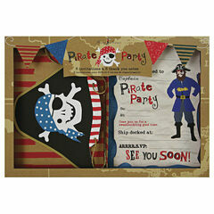 Meri Meri Ahoy There! Party Invitations & Thank You Notes