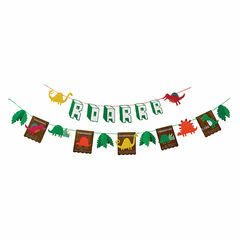 Meri Meri Dinosaur Party Garland